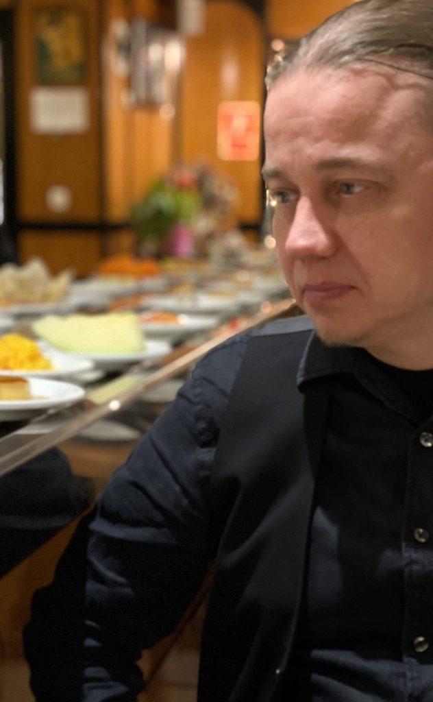 Japanilaisessa ravintolassa