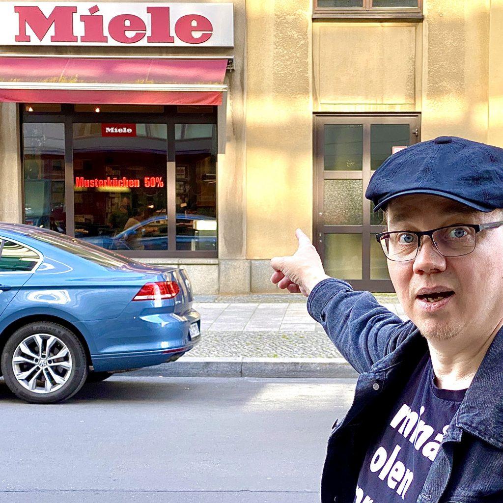 Mielenosoitus Berliinissä