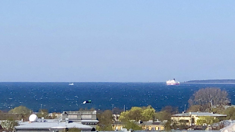 Tallinnasta näkymä merelle