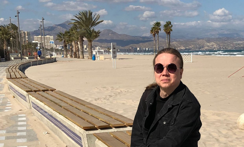 Hannu Alicantessa.